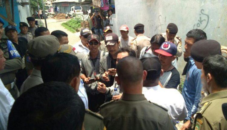 Petugas Ukur Pertanahan Kota Tangerang Disandera Ormas