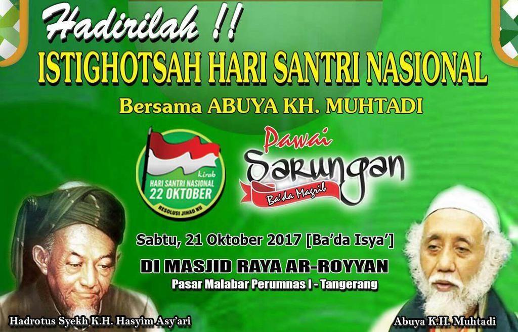 Shalawat Nariyah 1 miliar ISNU Kota Tangerang bakal Dipimpin Abuya KH Muhtadi