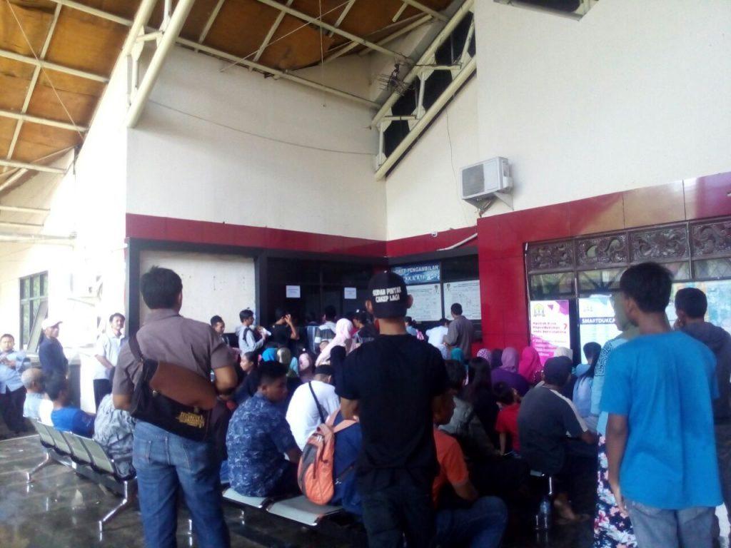 Pelayanan E-KTP di Kota Serang