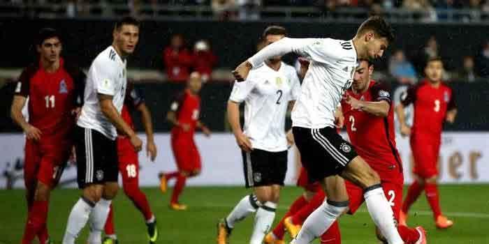 Tim Jerman 100 persen menang