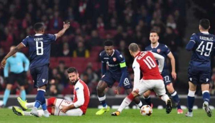 Arsenal Gagal Dapatkan Poin