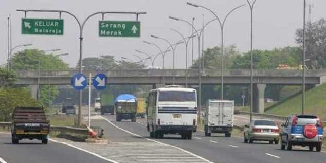 Tol Tangerang-Merak Naik