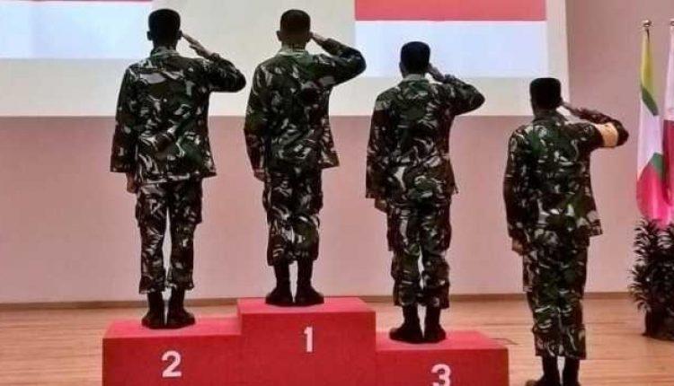 TNI AD Kembali Menjadi Juara Lomba Tembak
