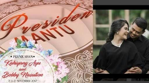 Pernikahan Putri Presiden Jokowi