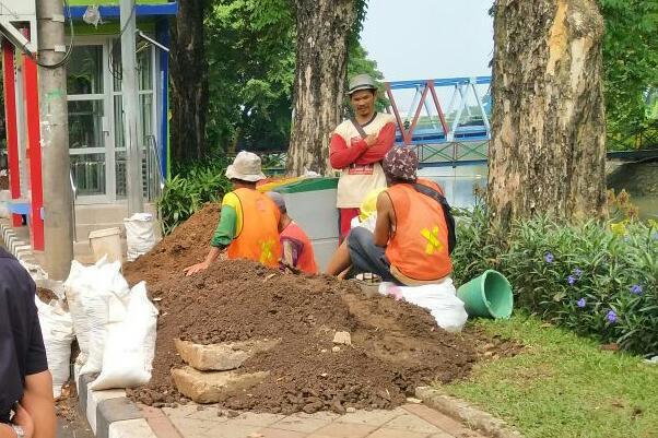 Proyek APBD Kota Tangerang Rusak