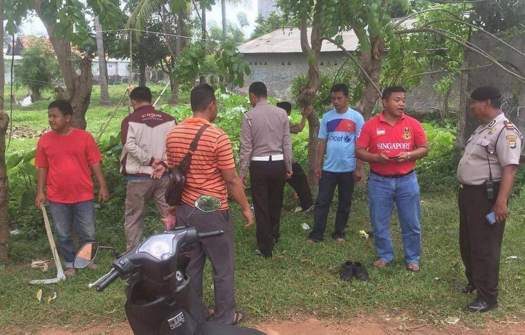 Miras Oplosan, Dua Warga Kabupaten Tangerang Ini Tewas Mengenaskan