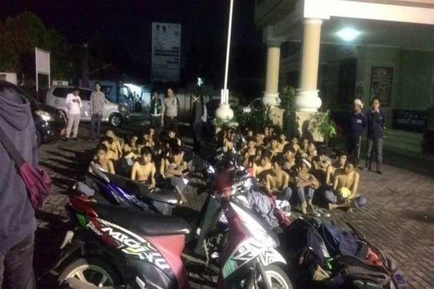 Pelajar SMK diringkus Polisi saat hendak Tawuran