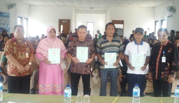 penyerahan sertifikat tanah