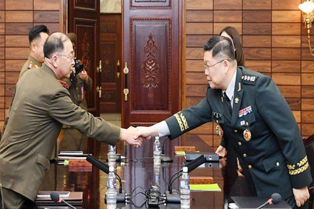 pembicaraan tingkat militer Korea