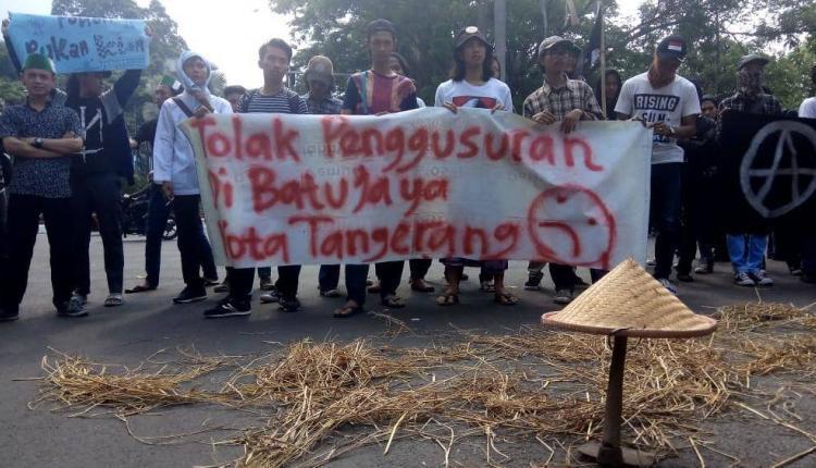 kasus penggusuran warga batujaya