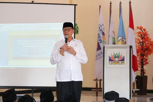 Revolusi Industri BantenGubernur Banten Wahidin Halim