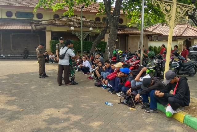 50 Pelajar Kab Tangerang dihalau polisi