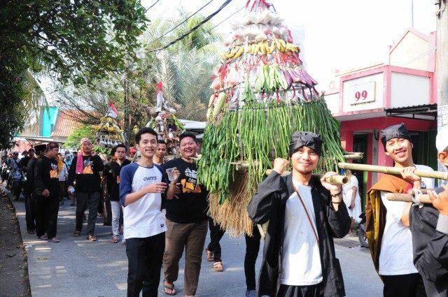 Semarak ruwatan bumi di Tangerang