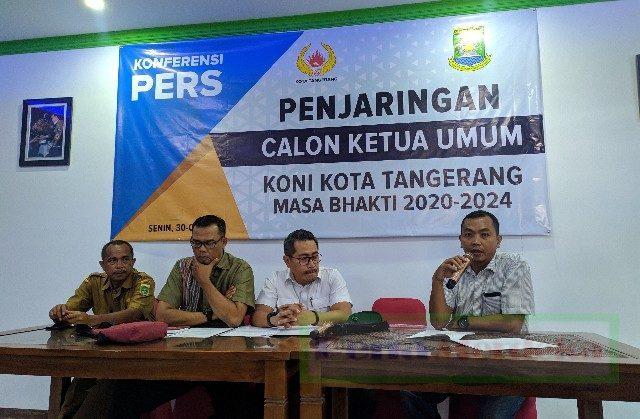 Koni Kota Tangerang buka penjaringan ketua