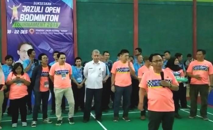 Jazuli open badminton tournament 2019