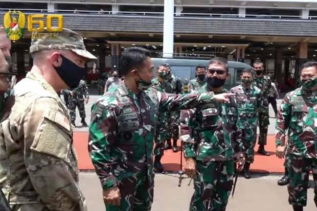 Ksad Lepas 125 Prajurit Tni Ad Latihan Jrtc Bersama Us Army Llk