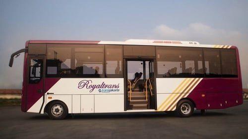 bus premium royal trans pt transjarakta ratio 16x9