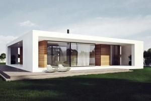 Model Rumah Minimalis Tipe Flat Roof