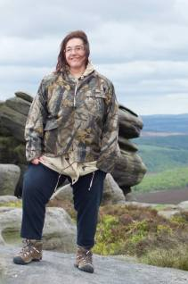 Hiking Carl Wark in the Peak District, England