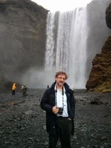 Bob at Skogafoss, Iceland