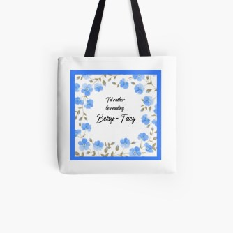 I'd rather be reading... tote