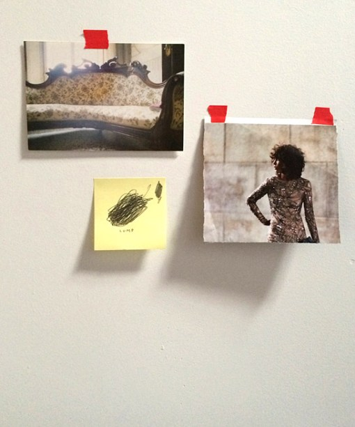 Dasha Tolstikova's Brooklyn studio