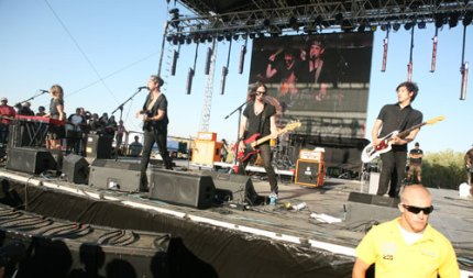 The Airborne Toxic Event. (Photo by Anna Paige)