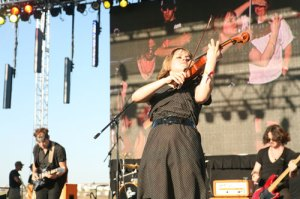 Airborne Toxic Event violinist Anna Bullbrook. (Photo by Anna Paige)