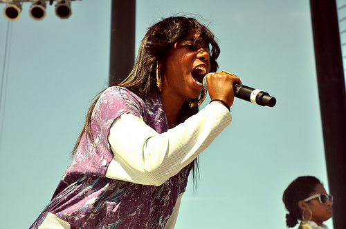Santigold. (Photo by Sean Pecknold)