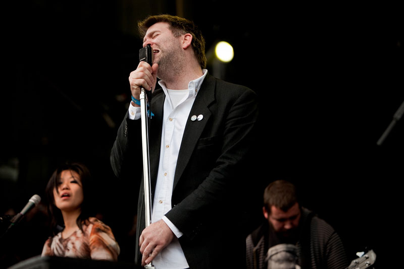 LCD Soundsystem founder/lead James Murphy (Photo by Christopher Nelson).