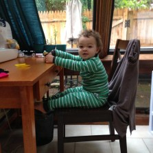 Working from home with pen&thimble