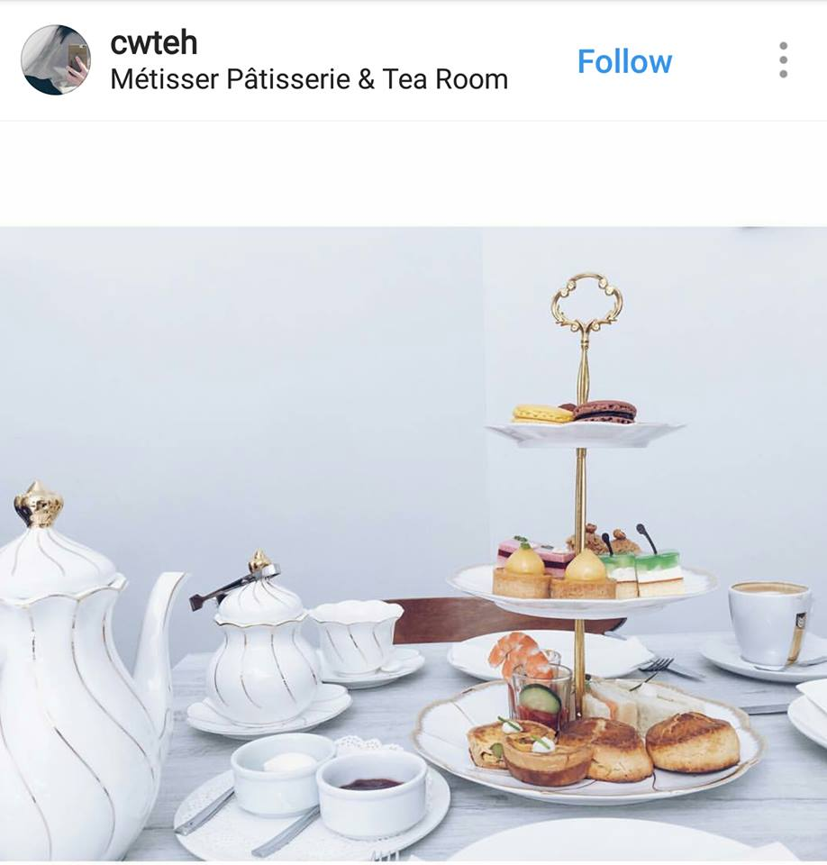 Metisser Patisserie High Tea