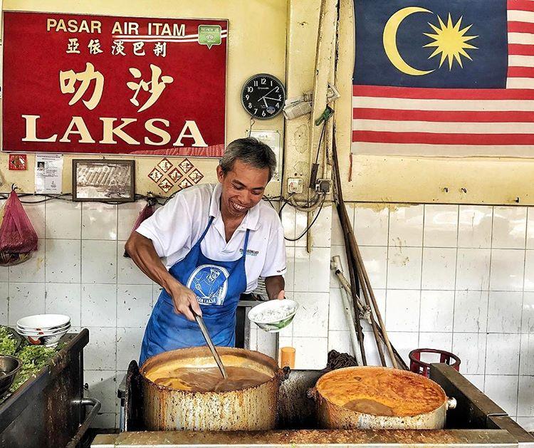 good food in penang