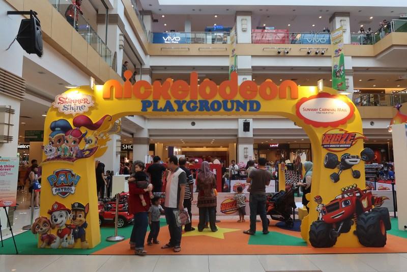 Nickelodeon Sunway Carnival Mall