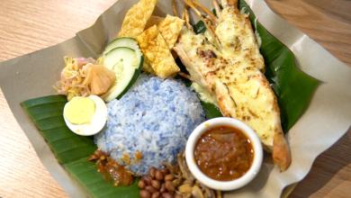 Lobster nasi lemak Penang