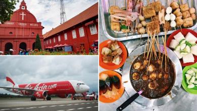 AirAsia Penang - Melaka