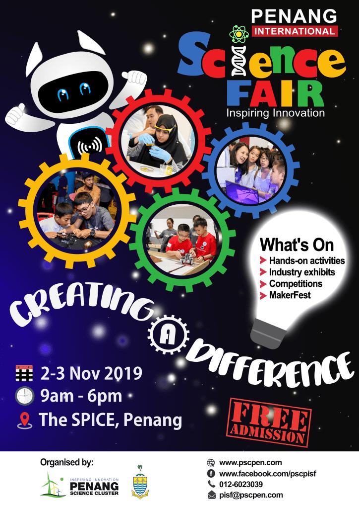 Penang Events in October & November 2019
