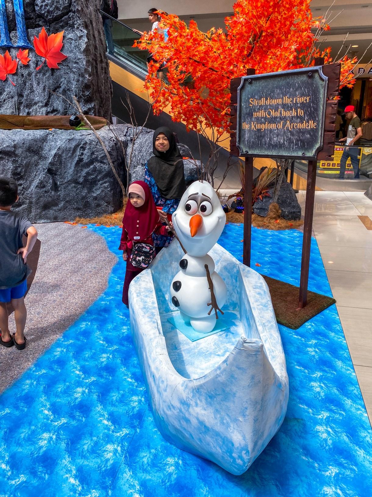 Sunway Carnival Mall Frozen 2