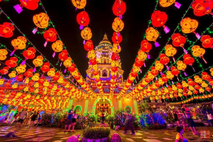 Kek Lok Si Temple Online Lighting 2021