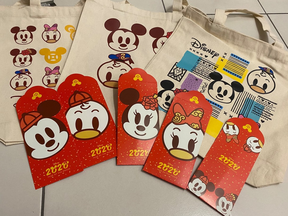 Shell Mickey Mouse red packet