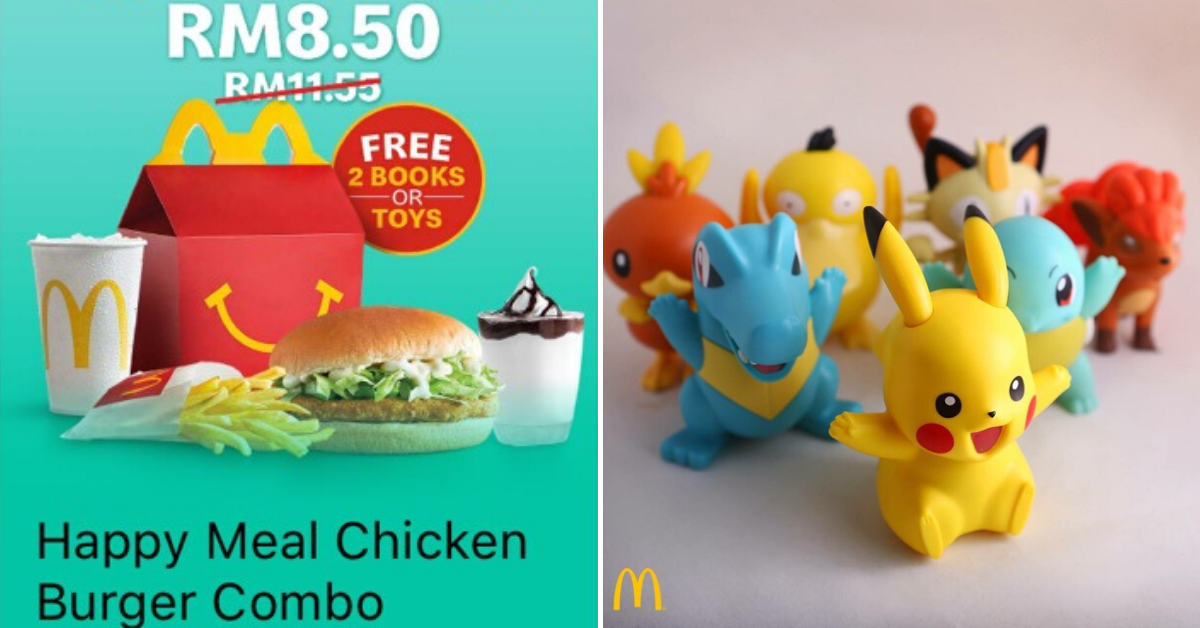 Mcdonald S Serving Twice The Punch With 2 Free Toys In A Happy Meal For Rm8 50 Penang Foodie