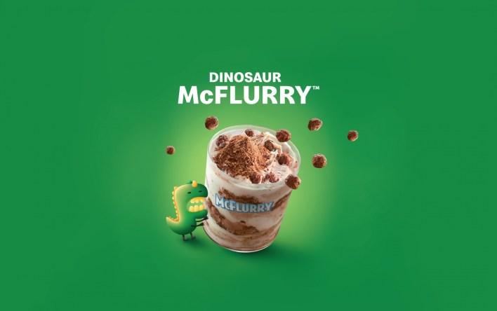 McDonald's Dinosaur McFlurry