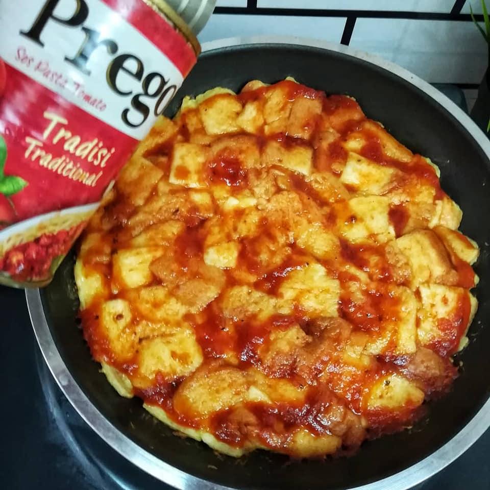 Pizza recipe using Gardenia