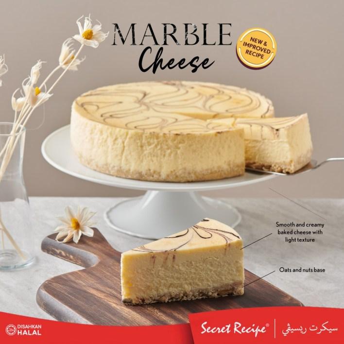 Secret Recipe Marble Cheesecake