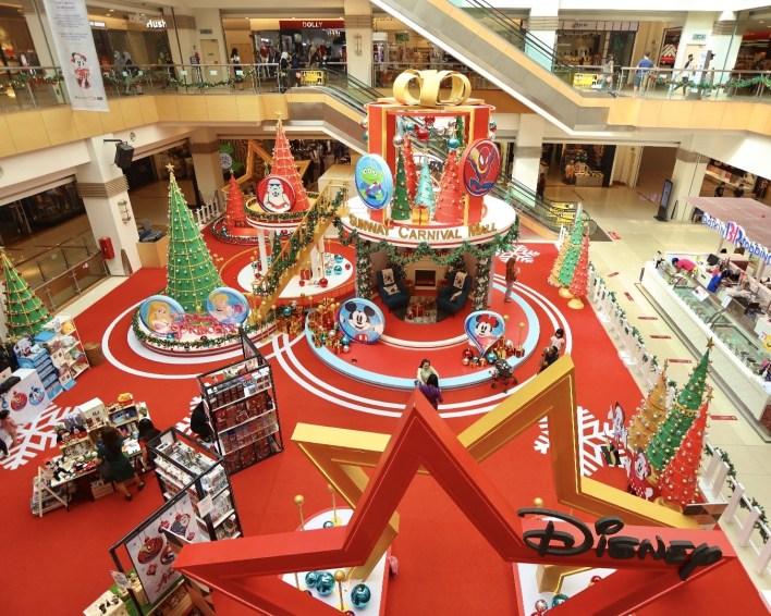 Sunway Carnival Pop Up Disney Christmas