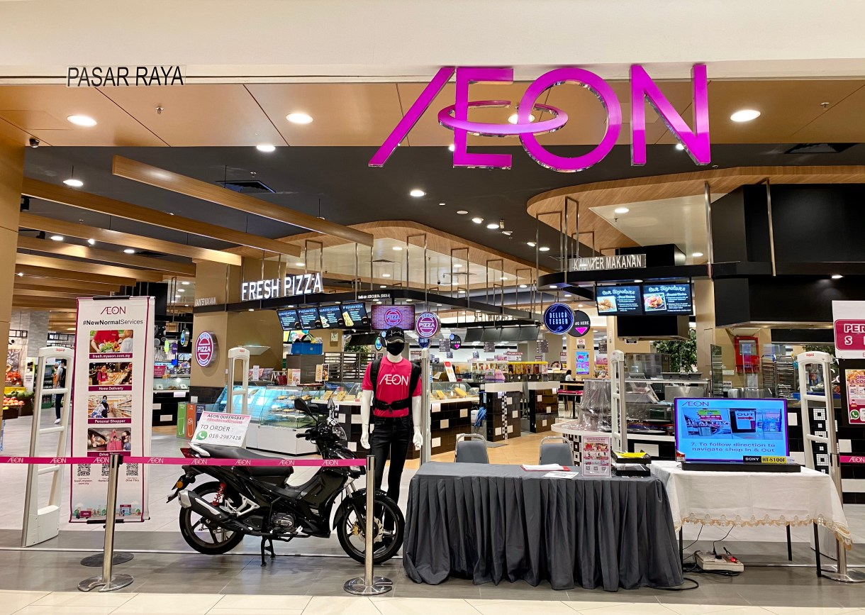 AEON Queensbay Mall Resume Operations