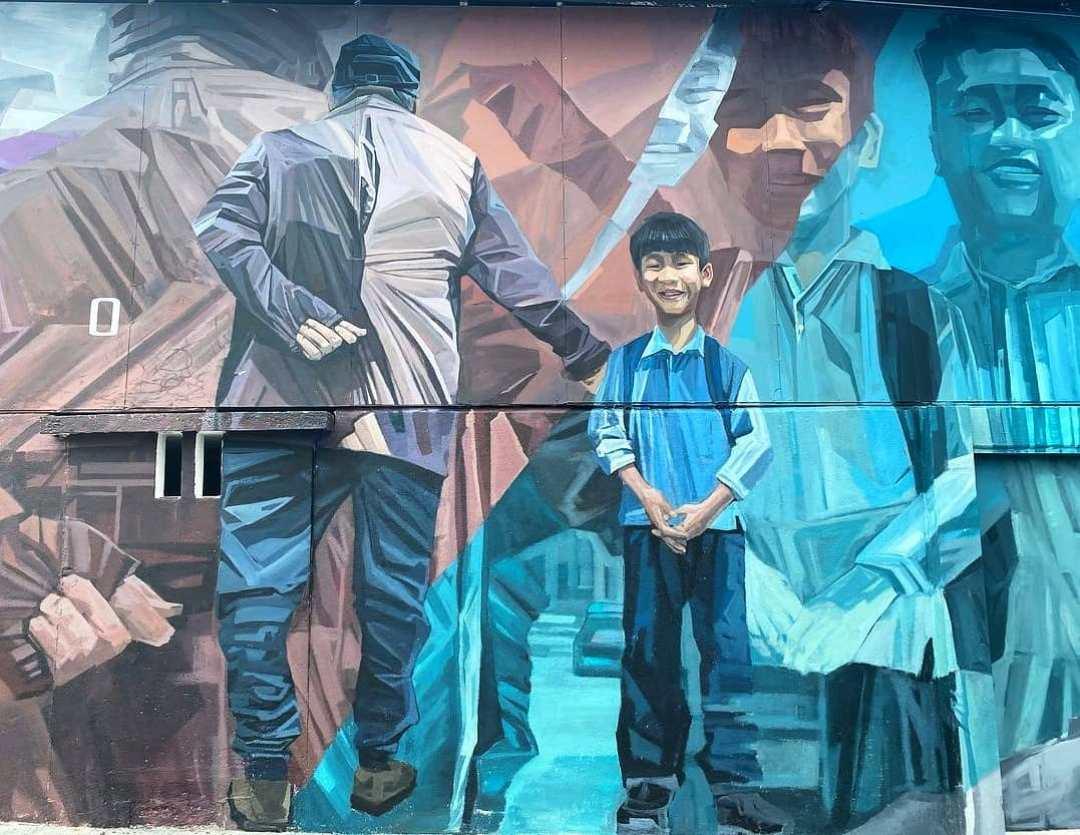 Air Itam new murals