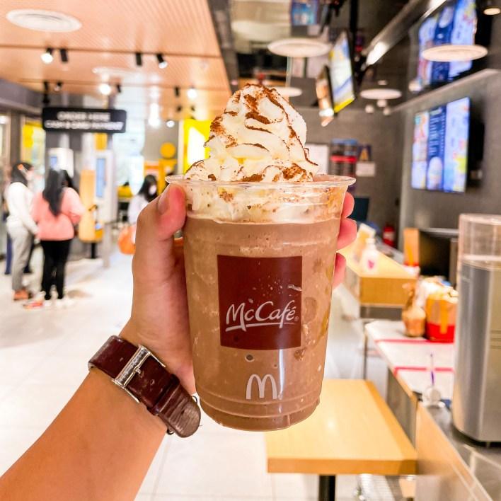 McCafe Milo Ice Blended