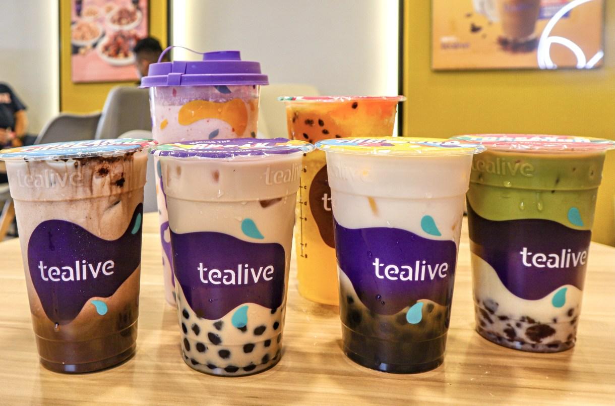 Tealive Promotion