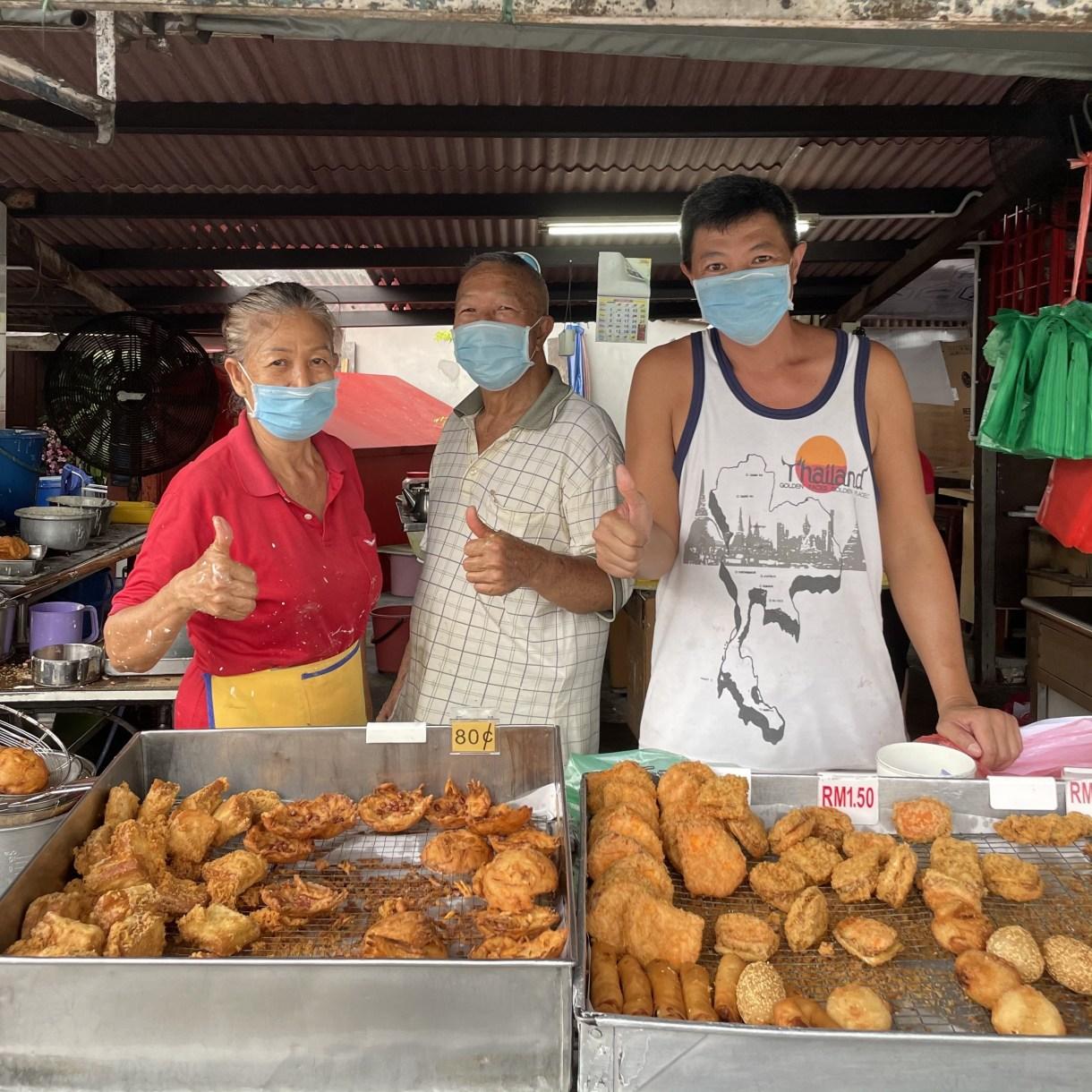 Weld Quay Fried Snacks Penang